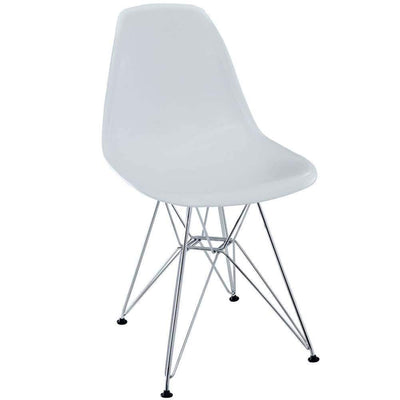 White Paris Dining Side Chair