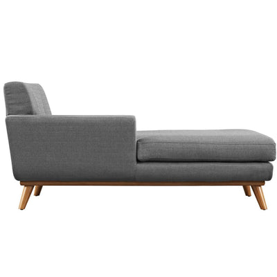 Engage Left-Arm Upholstered Chaise Gray MDY-EEI-1793-DOR