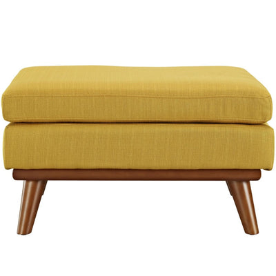 Citrus Engage Fabric Ottoman MDY-EEI-1797-CIT