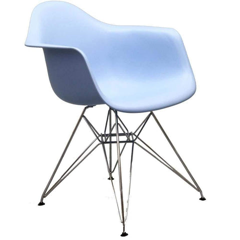 Light Green Pyramid Bar Stool