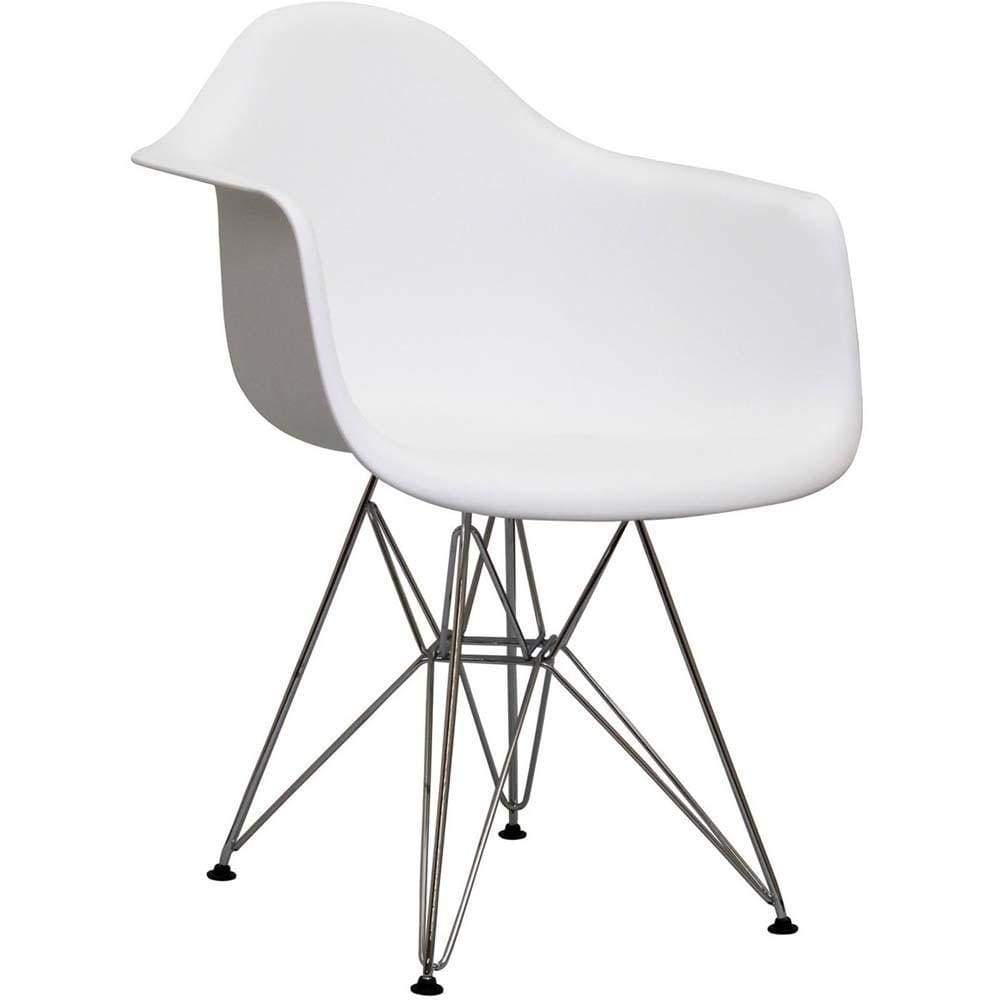 White Paris Dining Armchair