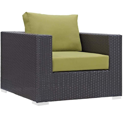 Peridot Convene Outdoor Patio Armchair