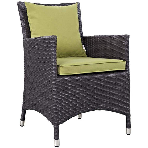 Peridot Convene Dining Outdoor Patio Armchair