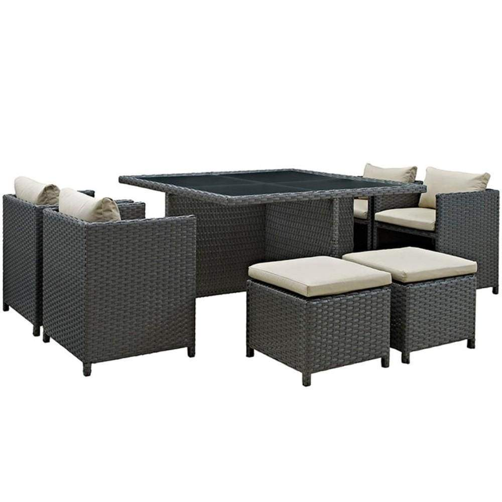 Decor Outdoor Patio Sunbrella Dining Set Sojourn Photo