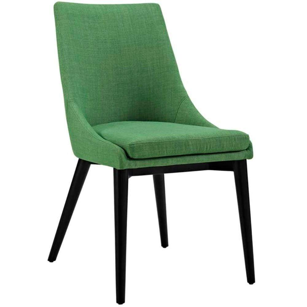 Viscount Fabric Dining Chair, Kelly Green