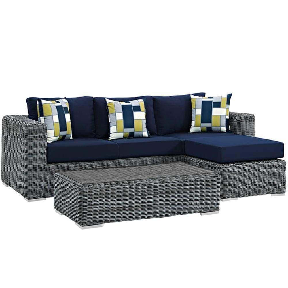 Patio Sectional Set