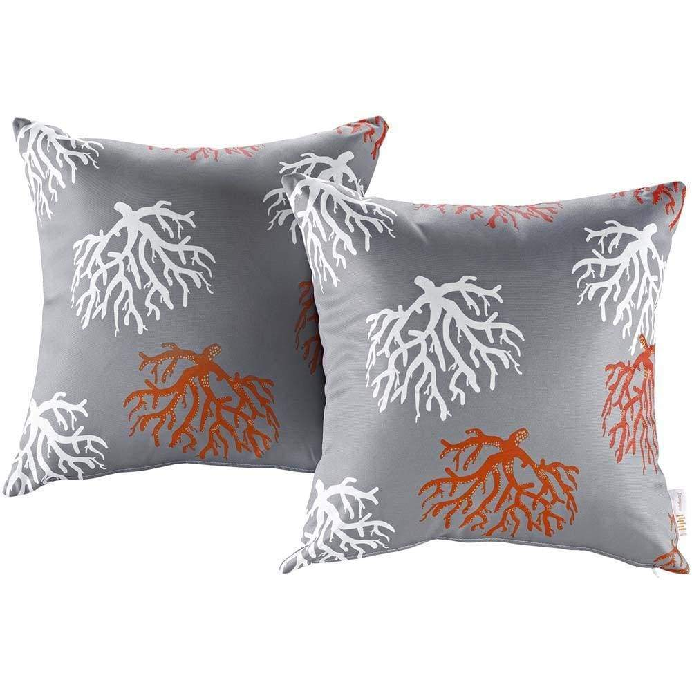 Orchard Modway Two Piece Outdoor Patio Pillow Set