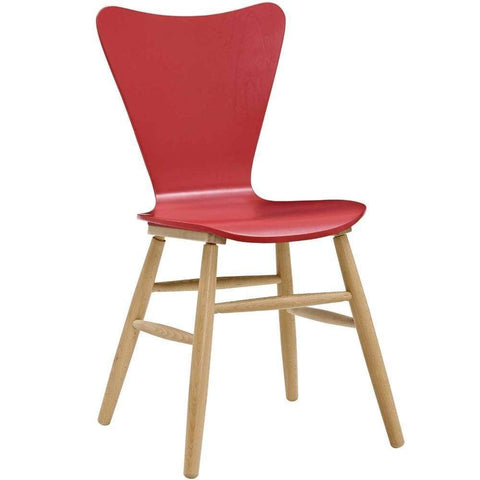 Procure Wood Bar Stool Brown