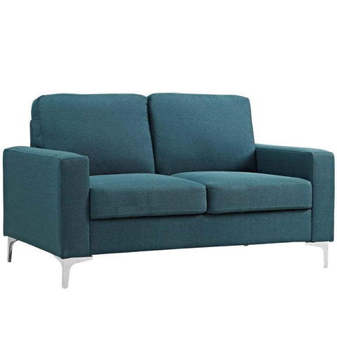 Rocker Lounge Chair Blue