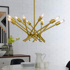 Cherish Brass Metal Pendant Light - EEI-2891