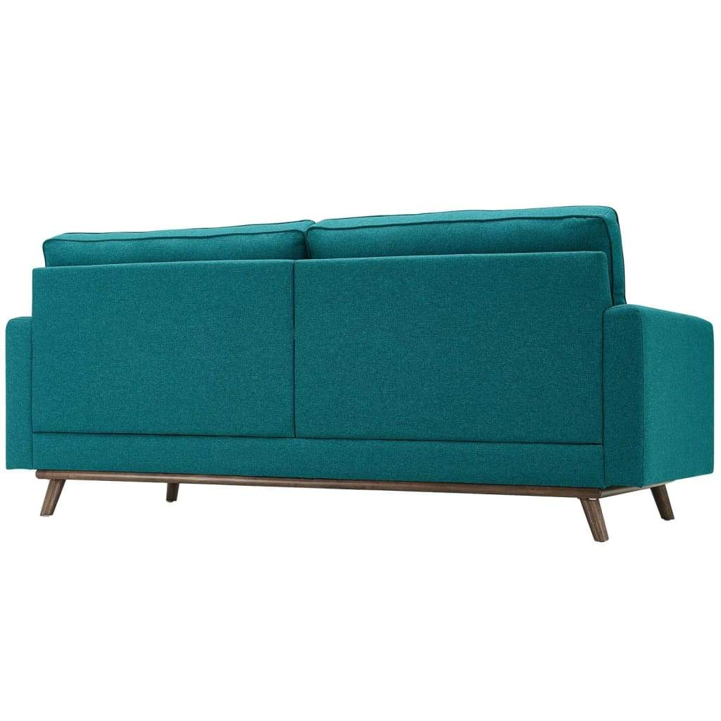 Prompt Upholstered Fabric Sofa - EEI-3046-TEA
