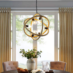 Transpose Rope Pendant Chandelier - EEI-3076