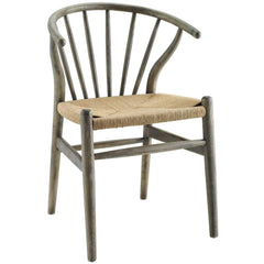 Flourish Spindle Wood Dining Side Chair - EEI-3338-GRY