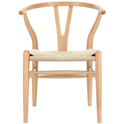 Natural Amish Dining Wood Armchair