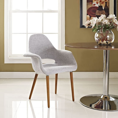 Aegis Dining Armchair Light Gray