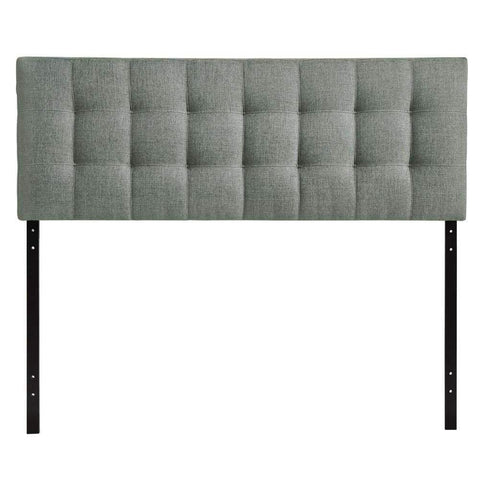 Beige Annabel Twin Fabric Headboard