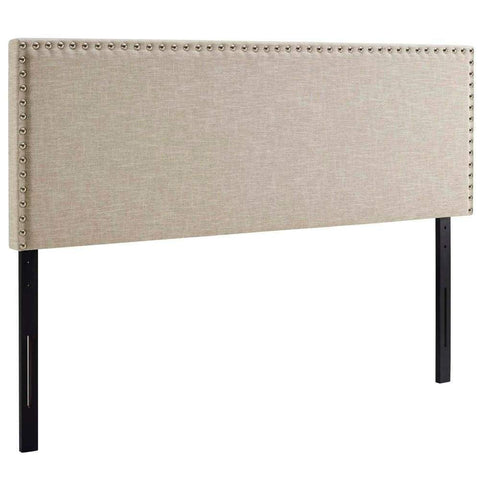 Annabel Full Vinyl Headboard Black