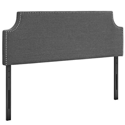 Gray Laura Full Fabric Headboard