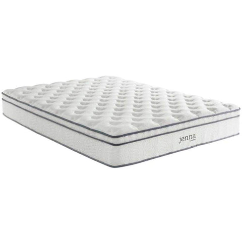 Furinno Nightland 8-Inch Pocket Coil Mattress, Full