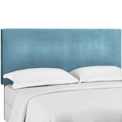 Taylor Full / Queen Upholstered Performance Velvet Headboard - MOD-5881-SEA