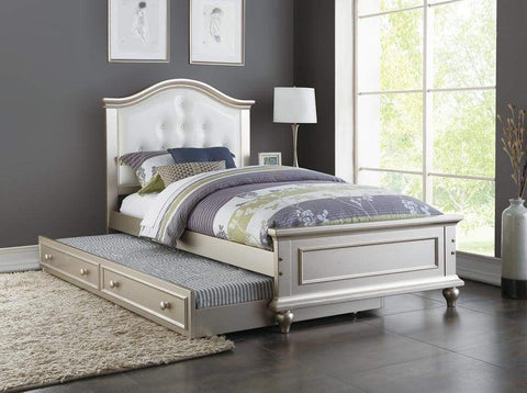 1671BKR Janis Bed Set - King - w/Rails