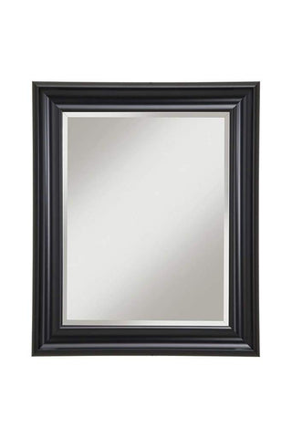 Aged Rectangular Wooden Mirror Frame by Urban Port