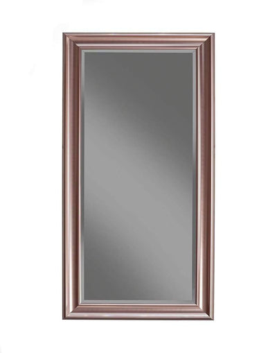 Full Length Leaner Mirror With a Rectangular Polystyrene Frame Rose Gold SDF-14611