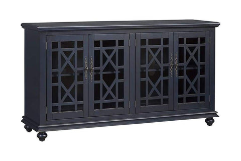 Addison Queen Bed Black Beige