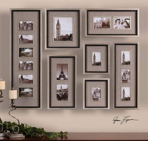 Artistic Styled Lynette Framed Artwork Set of 4