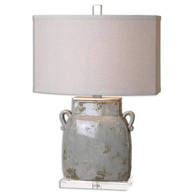 Melizzano Ivory-Gray Table Lamp By Uttermost