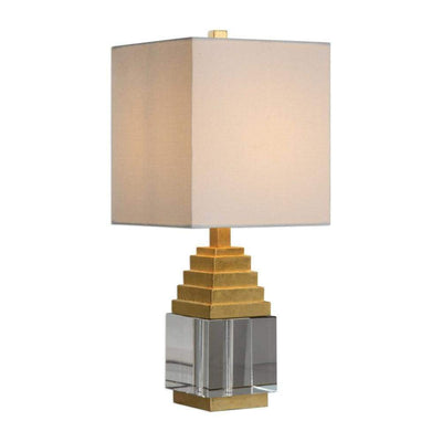 Anubis Crystal Cube Lamp By Uttermost