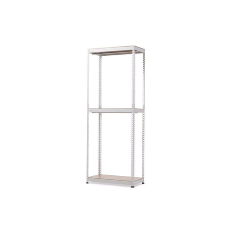 Benzara Modernly Designed Metal Wood Storage Shelf
