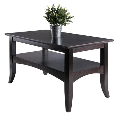 Camden Rectangle Coffee Table Coffee By Casagear Home WIN-23133