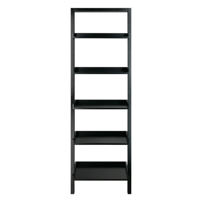Bellamy Leaning Shelf Black By Casagear Home WIN-29553