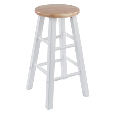 Element Counter Stools 2-Pc Set Natural & White By Casagear Home WIN-53274