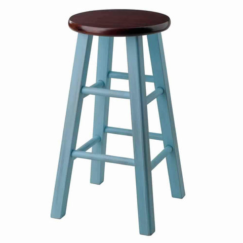 Stylish Stockholm Airlift Swivel Stool with Faux leather by Winsome Woods