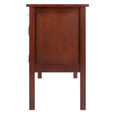 Emmett Desk Walnut By Casagear Home WIN-94445