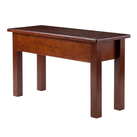 Global Views Walnut Small Amoeba Box Furniture