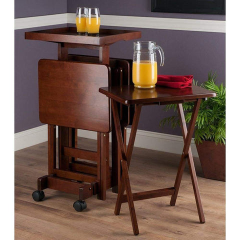Winsome Wood Air Lift Adjustable Stools Set of 2