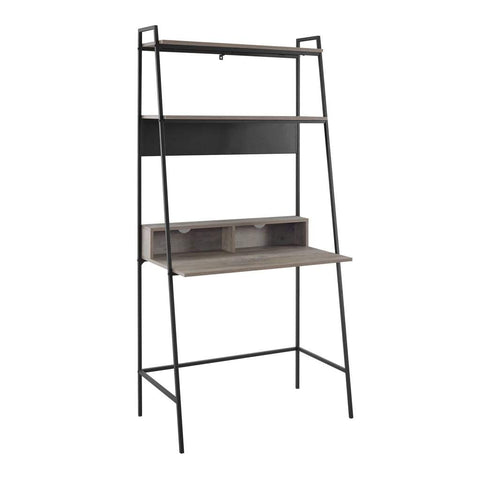Elegant Sunrise Metal Twin/Double Bunk Bed in White by Walker Edison