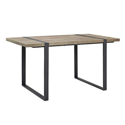 "60"" Urban Blend Wood Dining Table - Driftwood"