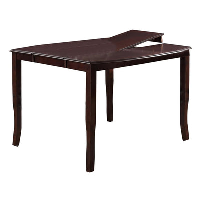Anticardium Wood Counter Height Extension Table Brown PDX-F2238
