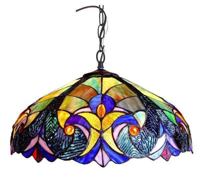 Arty Victorian Pendant Lamp by Chloe Lighting