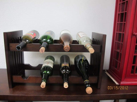 4D Concepts Trendy and Wonderfully Designed Wine Stand