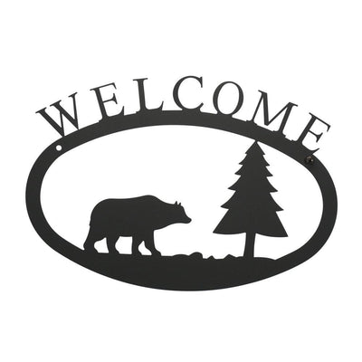 Bear & Pine - Welcome Sign Large