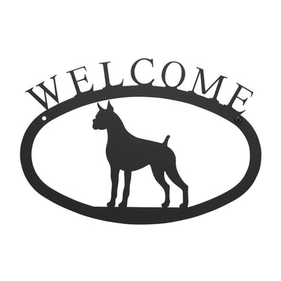 Boxer - Welcome Sign Small