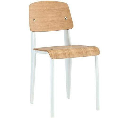 Cabin Dining Side Chair Natural White