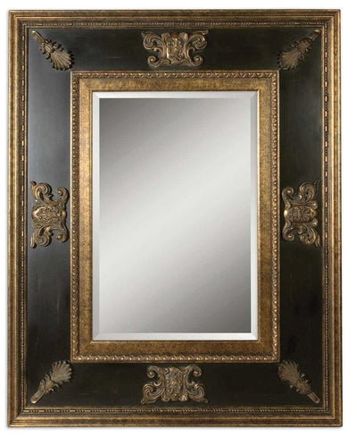 Cadence Antique Gold Mirror - Uttermost