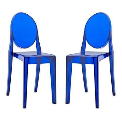 Casper Dining Chairs Set of 2 Blue