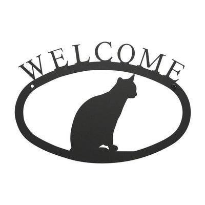Cat Sitting - Welcome Sign Small